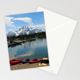 Beautiful Summerday At Colter Bay Stationery Cards