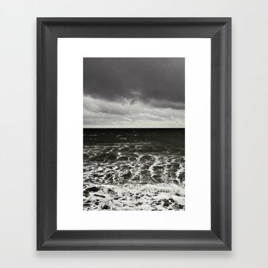 all at sea... Framed Art Print