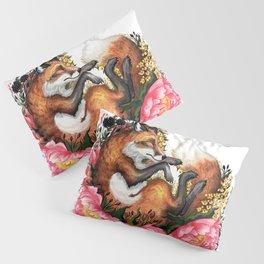 Flora and Fauna Fox Pillow Sham