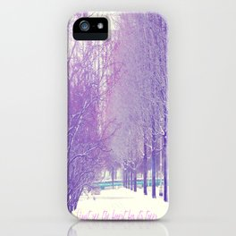 Can't see the forest for its trees iPhone Case