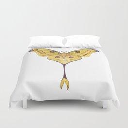 Comet moth (Argema mittrei) Duvet Cover