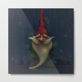 Gnome Metal Print