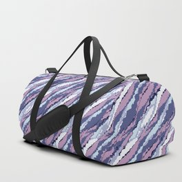 Abstract purple and lilac . Duffle Bag