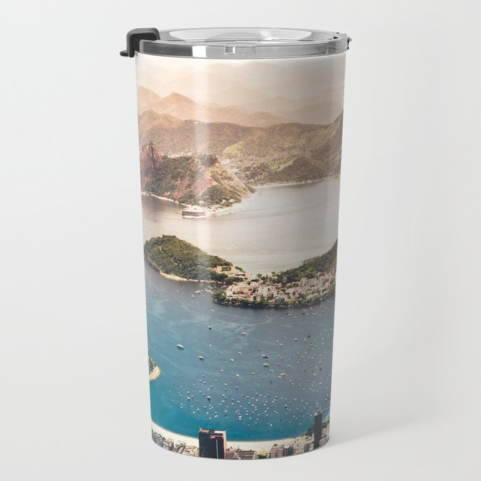 Rio de Janeiro Brazil Travel Mug