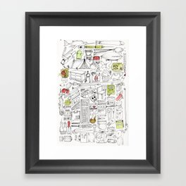 Everything You Need Framed Art Print