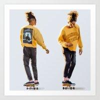 Jaden Smith looks Art Print