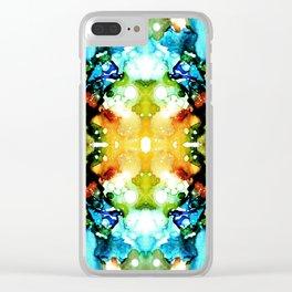 Design 93 Clear iPhone Case