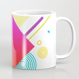 Displaced Geometry Coffee Mug