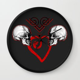 Eternally Yours Wall Clock