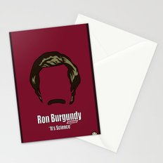 Ron Burgundy: Anchorman Stationery Cards