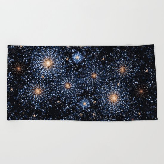 Let Your Light Shine Beach Towel