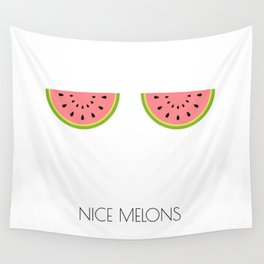 NICE MELONS Wall Tapestry