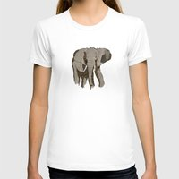 newspaper T-shirts featuring Newspaper Elephant by Doolin