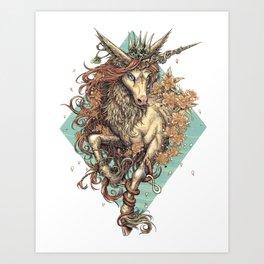 Myrtle Art Print