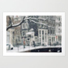 Blurry Art Print