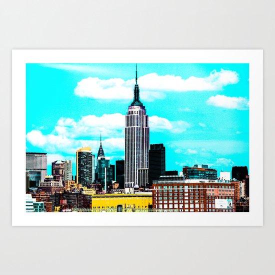 NY Empire Art Print
