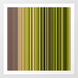 Scanline | Moss 326 Art Print
