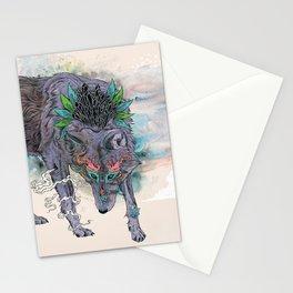 Journeying Spirit (wolf) Stationery Cards