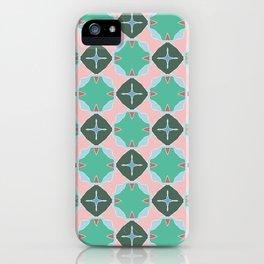 Keats green trinkets on pink iPhone Case