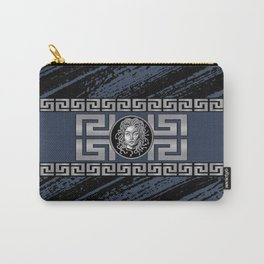 Medusa Metalic Silver Carry-All Pouch