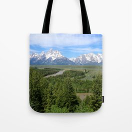 Snake River And The Grand Tetons Tote Bag