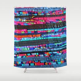 Colorful and Playfully Shower Curtain