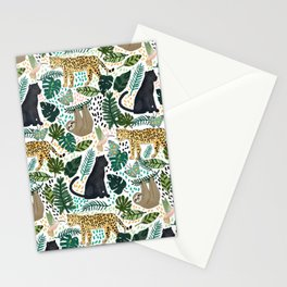 Emerald Rain Forest Animals Stationery Cards
