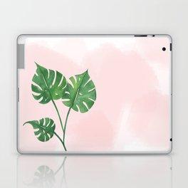 Watercolor tropical leaf Laptop & iPad Skin