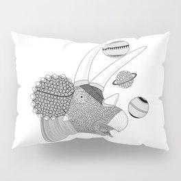 Triceratops Pillow Sham