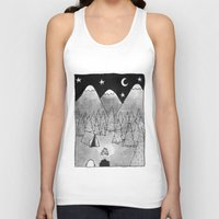 camping Tank Tops featuring Camping. by Caleb Boyles