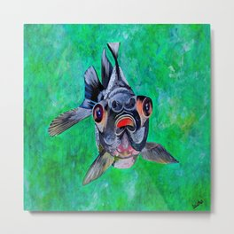 Blackmoor Goldfish Metal Print