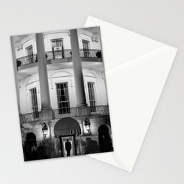 President Obama Entering The White House - 2012 Stationery Cards