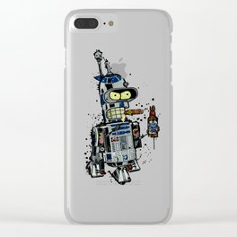 BendR2D2 Clear iPhone Case
