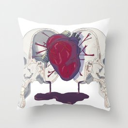 Headsplit Throw Pillow