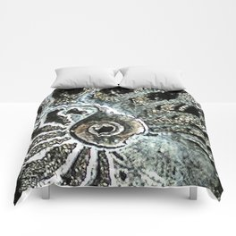 Pyrite after Ammonite Comforters