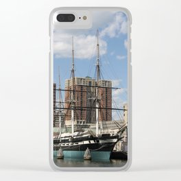 USS Constellation Clear iPhone Case