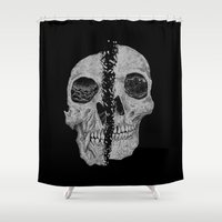 darwin Shower Curtains featuring Anthropology by Tonymidi