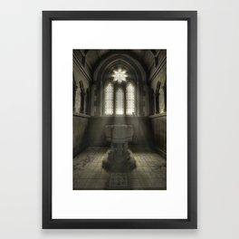 Fountain of God Framed Art Print