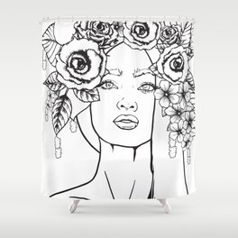 Rose to the Occasion Shower Curtain