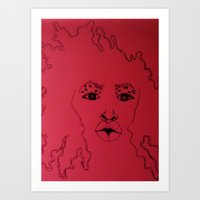 Fro Chick Edition Art Print