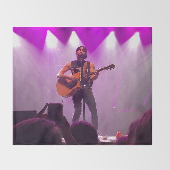 Alex Gaskarth- #Bands Throw Blanket