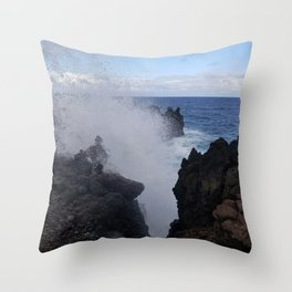 Ocean Explosion Throw Pillow