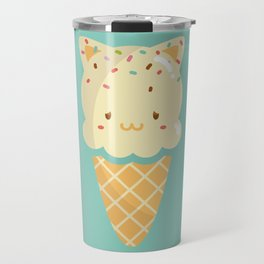 Vanilla Ice-cream Travel Mug