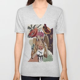 """""""Watching You Without Me"""" by Winn Smith Unisex V-Neck"""
