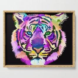 popart tiger Serving Tray