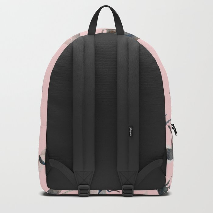 Insects on Pink Backpack