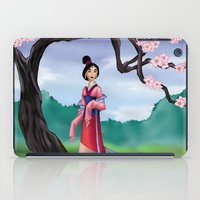 mulan iPad Cases featuring Mulan by Rousetta