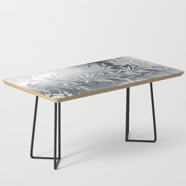 Silver Flowers Coffee Table