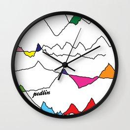 Profiles Wall Clock