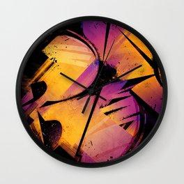 B--Abstract Wall Clock
